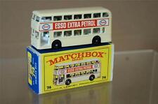 MATCHBOX LESNEY 74 DAIMLER BUS ESSO EXTRA BENZINA Menta in scatola MW
