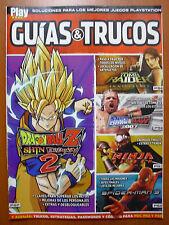 Guías DBZ Shin Budokai 2, Tomb Raider Anniversary, Ninja Gaiden PSP PS2 PS3 360