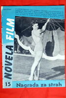 ESTHER WILLIAMS ON COVER 1953 VERY RARE EXYU MAGAZINE