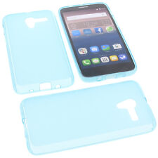 Funda para Alcatel one touch Pop 3 5.0 4g Funda para móvil carcasa TPU AZUL