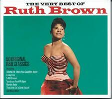 Ruth Brown - The Very Best Of - 50 R&B Classics (2CD 2015) NEW/SEALED