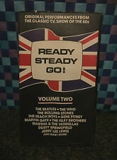READY STEADY GO - Vol 2 - BEATLES, ROLLING STONES, THE WHO - VHS