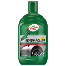 Turtle Wax Bodywork Restore Renew Car Polish Dull Colour Wax Remover Scratches