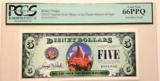 2014D $5 Big Thunder Mountain Disney Dollar PCGS Graded Gem New 66PPQ, D004506