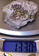 $329 ,133 Carat ! Gold Ore Specimen Quartz Cubic Pyrite SALE !!!!!