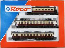 Roco Spur H0 43007 E-Triebwagen-Zug BR ET 85 der DRG Ep.II (3-tlg.) m. 8-pol.DSS