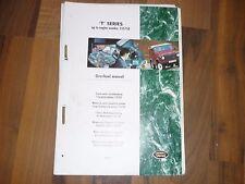 LAND ROVER Discovery -1996 Motor T-Serie Mpi Instandsetzung WERKSTATT HANDBUCH