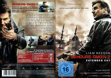 96 Hours Taken 2, Extended Cut, ca. 5 Min. mehr Action, Liam Neeson,DVD