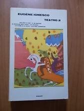 Eugene Ionesco TEATRO 2 Einaudi 1967 prima edizione