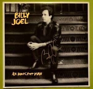 Billy Joel signierte LP An Innocent Man original Autogramm signed Vinyl