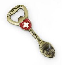 Fridge Magnet Bottle Opener Switzerland Jungfrau 3D Metal Souvenir Gift Kitchen