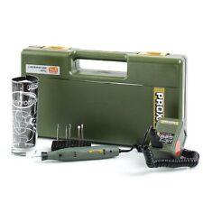 Proxxon Micro incisore Engraving 12/18V + accessori vetro/ceramica Mod. GG12