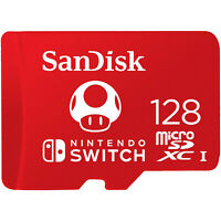 SanDisk 128GB microSDXC UHS-I-Memory-Card for Nintendo-Switch -