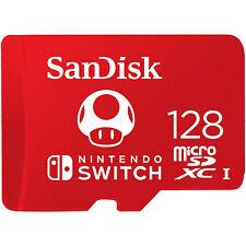 闪迪 128gb microSDXC UHS-I-内存 卡适用于任天堂-交换机 -
