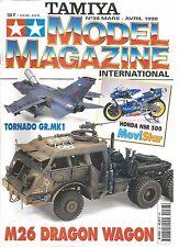 TAMIYA - MODEL MAGAZINE N°38 M26 DRAGON WAGON / TORNADO GR. MK1 / HONDA NSR 500