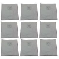 (9) Type Q Bags for Kenmore Vacuum 5055, 50558, 50557 HEPA Cloth Canister 433934