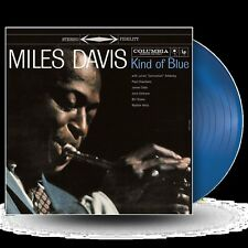 Miles Davis - Kind of Blue  - New Blue Vinyl LP + MP3