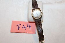 Timex Watch Timex Leather Band Vintage Mens Watch Large Face Wind Up F44