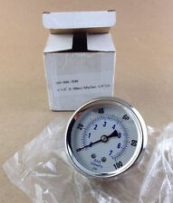 Pic Gauges Sec202l254e 2 12 Lf 14 Cbm Stainless Steel With Brass Internals