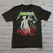 Deadstock Metallica And Justice For All Tour Tshirt 80s Vtg Single Stitch