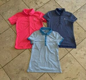 Women's Nike Golf Dri-Fit Short Sleeve Polo Shirts Size S lot of 3