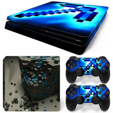 PS4 Slim Protective Skin Stickers Console & 2 Controllers - 0991
