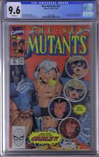 New Mutants #87 Marvel 1990 1st Cable & Stryfe CGC 9.6 (NEAR MINT +)