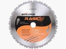 EVOLUTION RAGE 3s BLADE RAGE3 210 REPLACEMENT SAW BLADE
