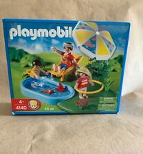 Playmobil 4140 Wading Pool Beach Umbrella Chair Hula Hoop