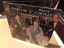 "Queen Freddie Mercury Barcelona Spain 1987 Gatefold 1st Issue Import 7"""