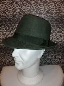 borsalino hat fedora vintage fur felt  (73 ) 100%genuine  7 1/2-60