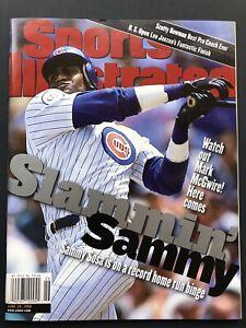Sammy Sosa Chicago Cubs 1998 Sports Illustrated Magazine NO LABEL MINT HR RACE