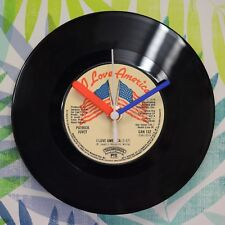 "Patrick Juvet 'I Love America' Retro Chic 7"" Vinyl Record Wall Clock"