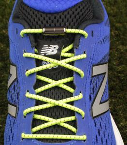 Round Lace Elastic Sport Shoelaces Lock Laces No-Tie Triathlon Running Jogging