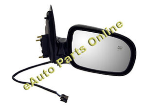 SIDE VIEW MIRROR 99-05 TRANSPORT SILHOULETTE MONTANA RH
