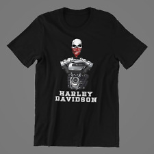 Harley Engine T shirt Milwaukee Harley Davidson Men Birthday Gift Chopper Fans