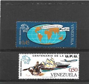 Venezuela 1974 UPU Centenary Set MNH