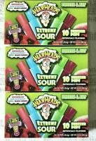 Warheads 10ct Freezer Ice Pops, 30 Total Popsicles   New Sealed In Box lot of 3