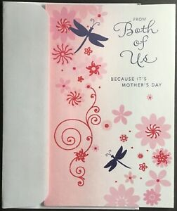 """NEW Card With Envelope - Mother's Day - American Greetings - 5.25"""" X 8.25"""""""