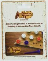 Cracker Barrel Gift Card - No Value - Restaurant Table Peg Game - I Combine Ship