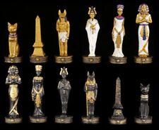 Pezzi degli scacchi set - EGITTO ORO E NERO - Scacchi figure
