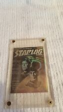 Starlog Magazine STAR TREK 3-D KIRK SPOCK HOLOGRAM CARD Cover #1