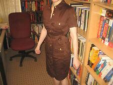 Calvin Klein  Military Style Dress NWOT Size 4