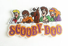 SCOOBY-DOO Character Embroidered Felt Iron / Sew on Patch Applique Ready Patch