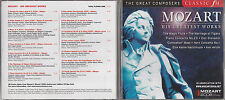 CD 2006 - MOZART HIS GREATEST WORKS - THE MARRIAGE OF FIGARO - AVE VERUM etc.