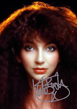 "KATE BUSH RARE SIGNED A4 GLOSSY PHOTO REPRINT 11.75""X8.25"" POP/ROCK MUSIC LEGEND"