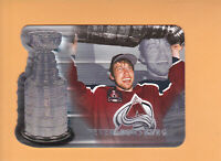 1998 99 BE A PLAYER PETER FORSBERG PLAYOFF HIGHLIGHTS #H-2 COLORADO AVALANCHE