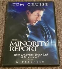 """Minority Report"".2 Disc Set, Widescreen, Tom Cruise, Pre Owned Dvd"