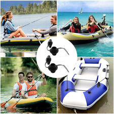 2Pcs Plastic Replacement Screw Air Valve Caps For Inflatable Boat Raft Airbed