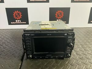DODGE MAGNUM SRT-8 SRT 2005-2007 OEM  6 DISC PLAYER NAVIGATION GPS RADIO SCREEN